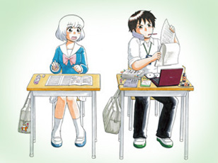 刻在课桌上的年龄